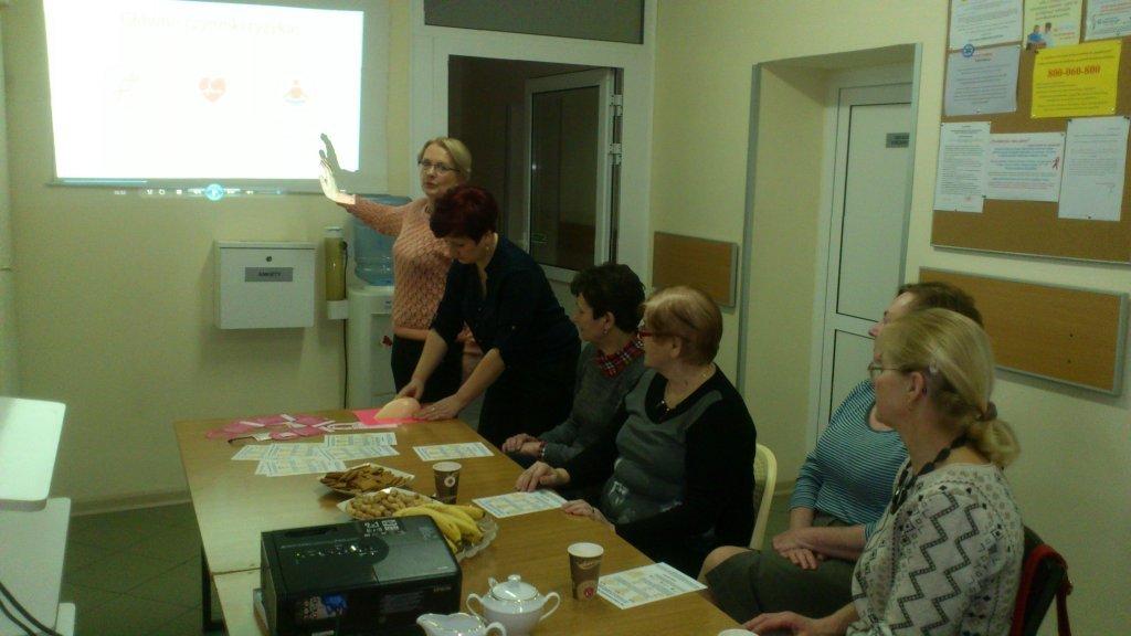 Spotkanie dotyczące profilaktyki raka piersi