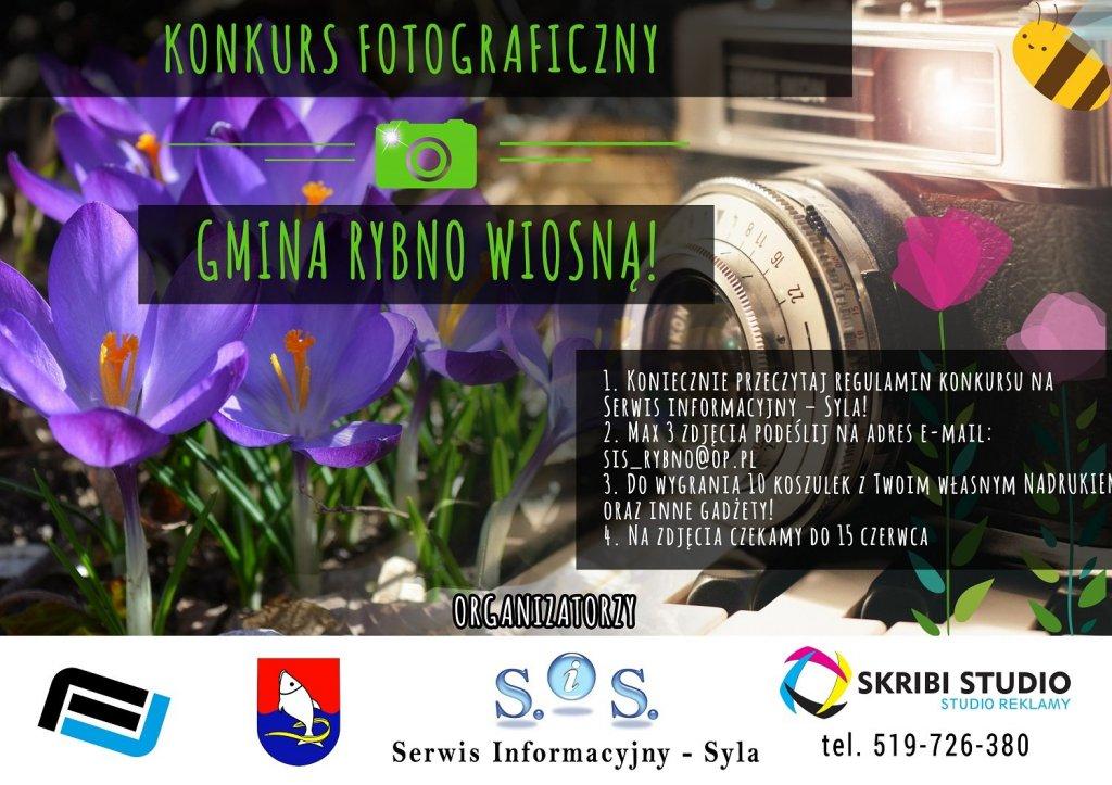 Konkurs Fotograficzny - Gmina Rybno wiosną