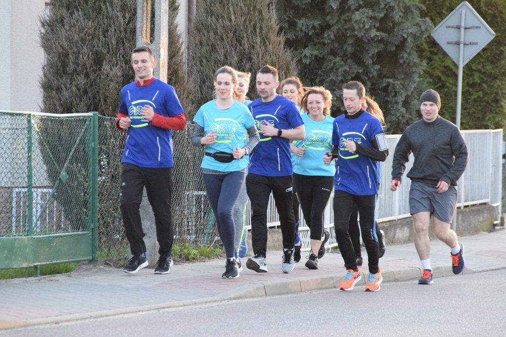 Pierwszy 'roczek' biegaczy Crazy Runners Team