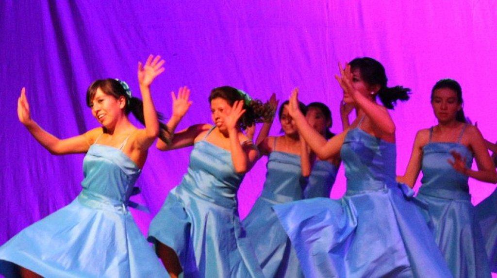 Sukces tancerek z ZS w Rybnie