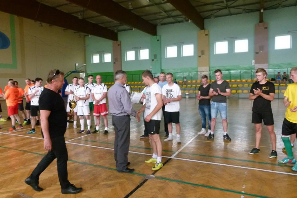 Turniej Sołecki w piłkę nożną wygrało Rybno