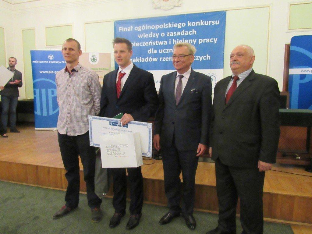 Finał XVI edycji Ogólnopolskiego Konkursu Wiedzy o BHP