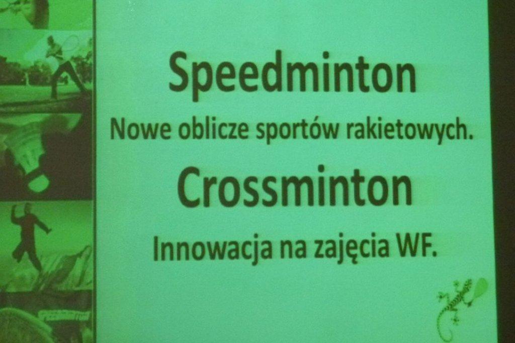 Crossminton - warsztaty w OSiR