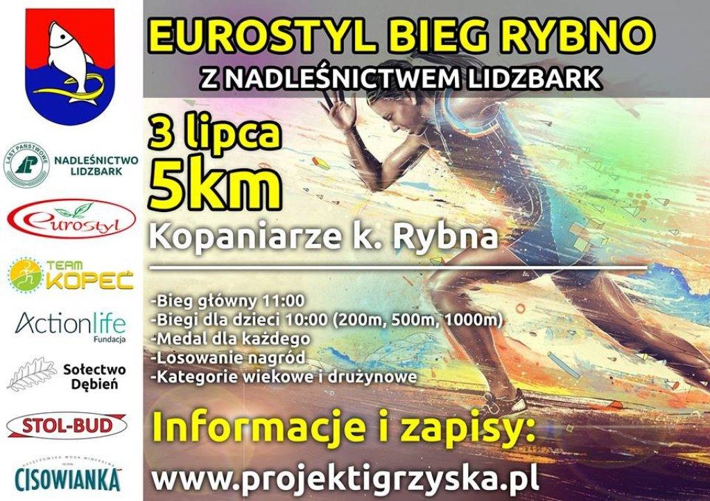 Eurostyl Bieg Rybno z nadleśnictwem Lidzbark