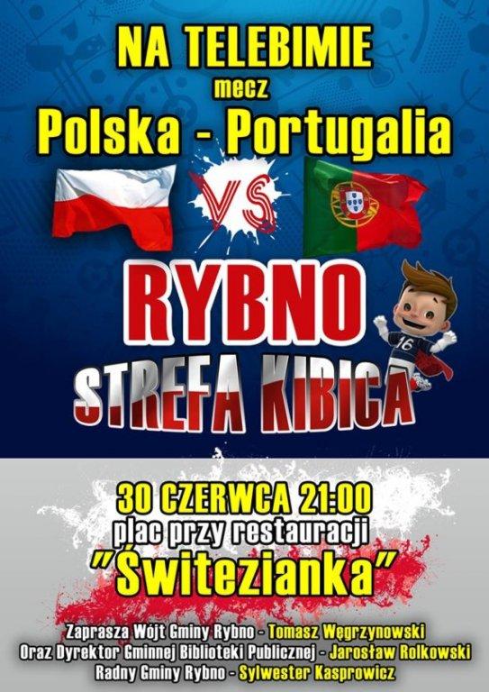 Zapraszamy na mecz: Polska – Portugalia