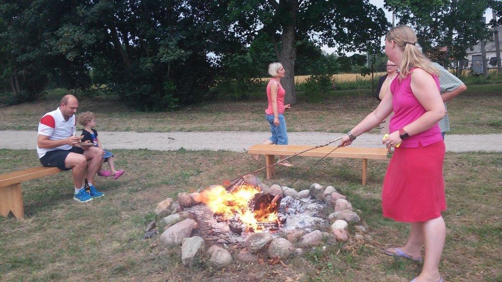 Rapaty: Zebranie Wiejskie i ognisko dla mieszkańców