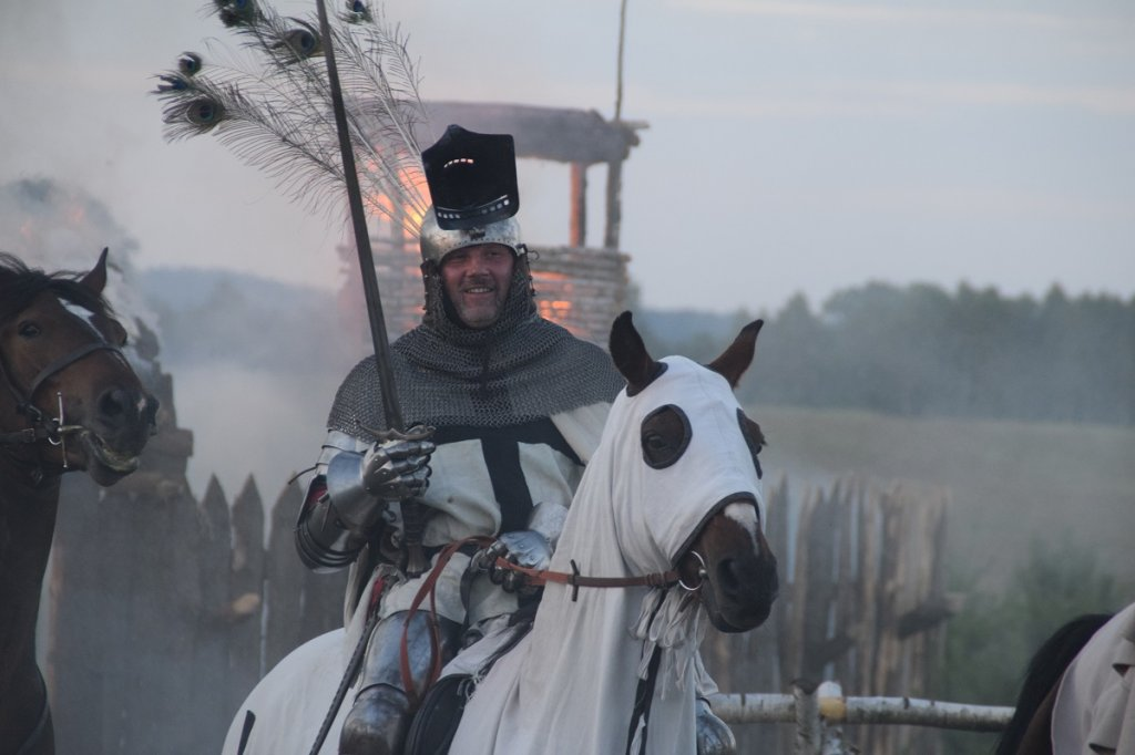 Średniowieczna bitwa o gród Rybno