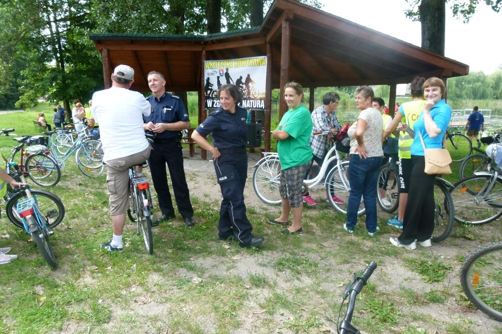 Wycieczka rowerowa 'W zgodzie z naturą'
