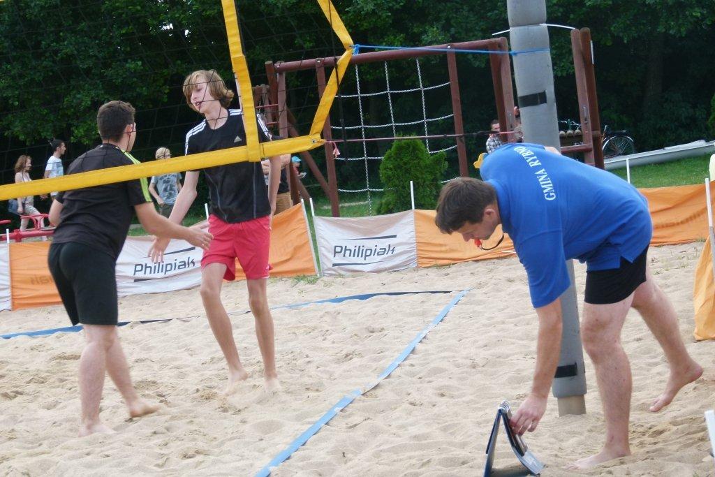 Turniej piłki plażowej mężczyzn