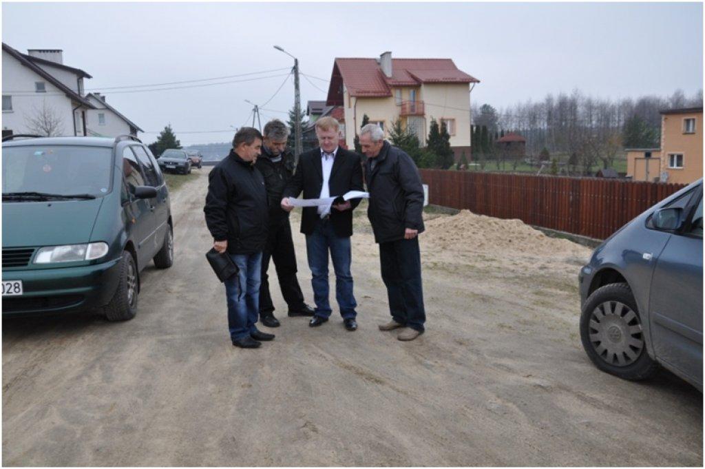 Przegląd gwarancyjny dróg w Hartowcu