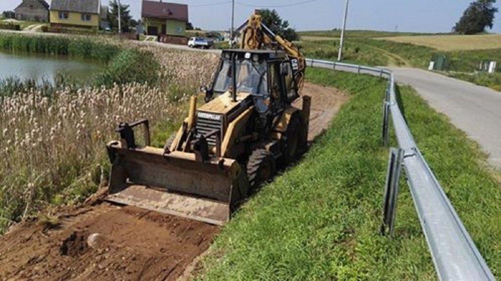 Żabiny: Rozpoczęła się budowa deptaka w sołectwie