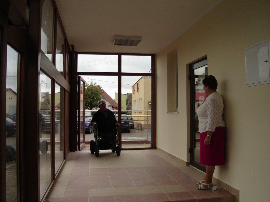 Podjazd dla niepełnosprawnych oddany do użytku
