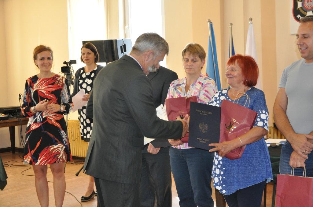 Żabiny laureatem konkursu 'Czysta Wieś 2016'
