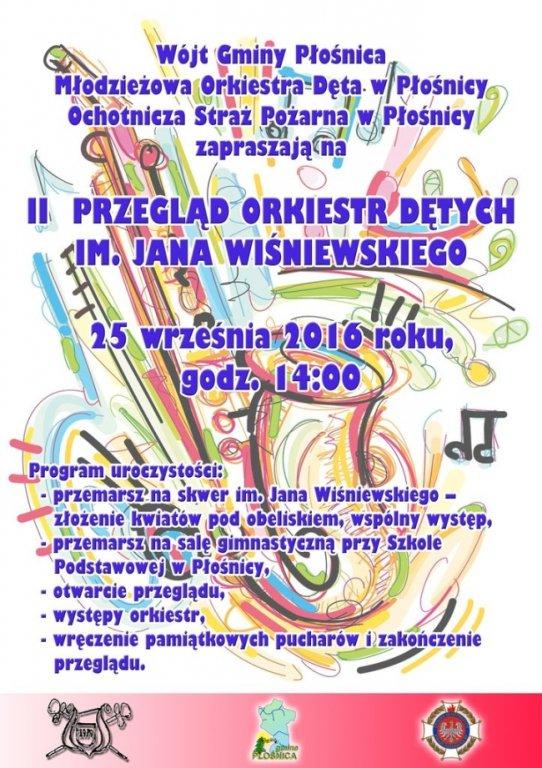 II Przegląd Orkiestr Dętych im. Jana Wiśniewskiego