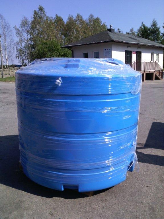 Zakupiono zbiornik na wodę pitną