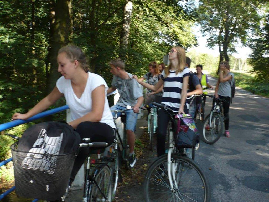 Wycieczka rowerowa wokół jeziora Rumian