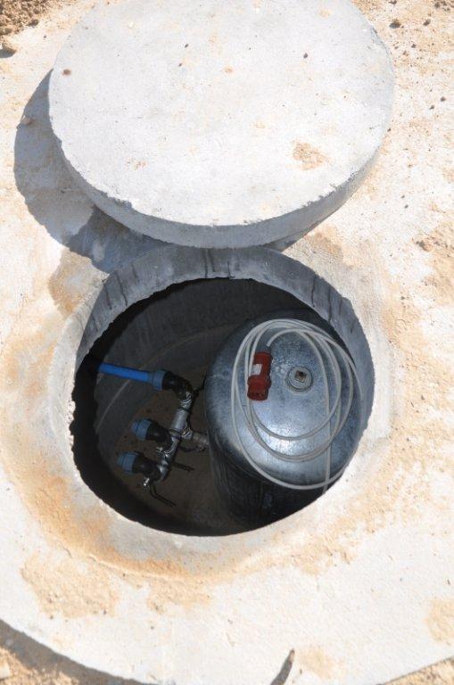 Nowa studnia w Truszczynach