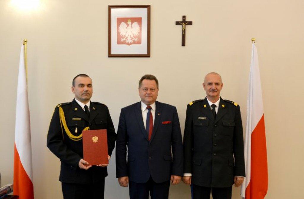 Tomasz Komoszyński został Pomorskim Komendantem Wojewódzkim PSP