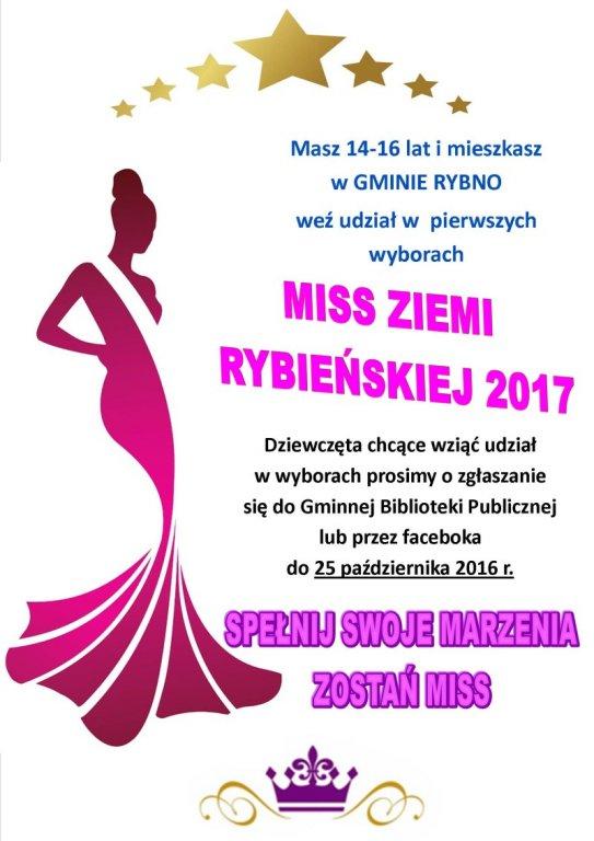 Miss Ziemi Rybieńskiej 2017
