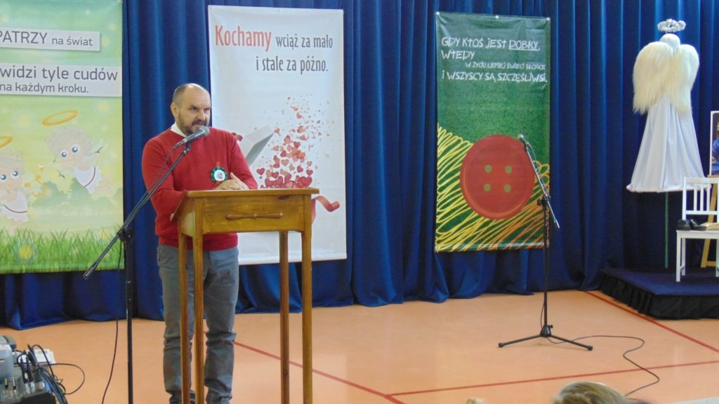 Jubileusz 10 - lecia nadania imienia ks. Jana Twardowskiego Szkole Podstawowej w Rumianie