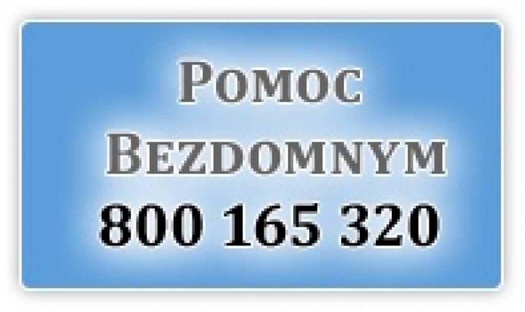 Bezpłatna infolinia dla bezdomnych