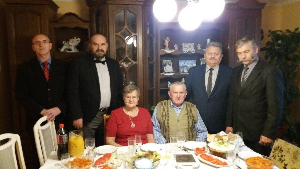 Truszczyny: Diamentowi Agnieszka i Feliks Konicz