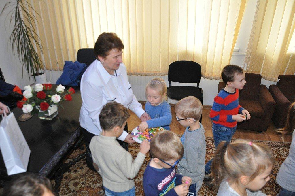 Wizyta przedszkolaków w urzędzie