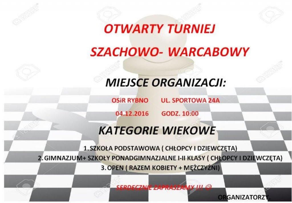 Turniej szachowo-warcabowy