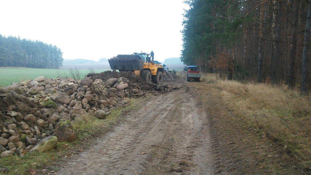 Naprawa dróg lokalnych