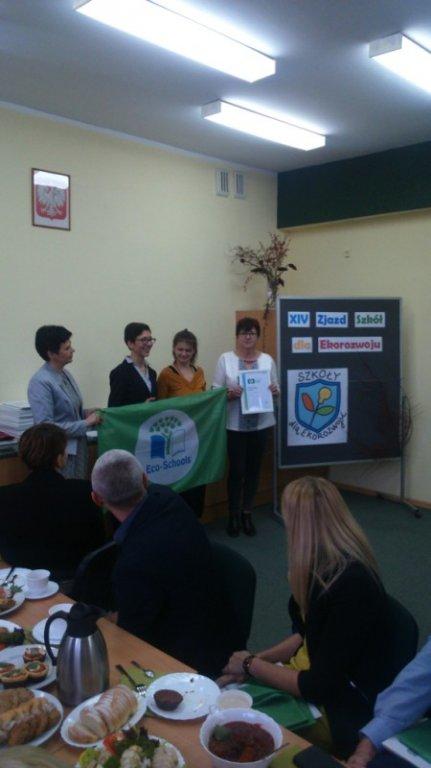 Międzynarodowy Certyfikat  Zielona Flaga dla Szkoły Podstawowej w Hartowcu