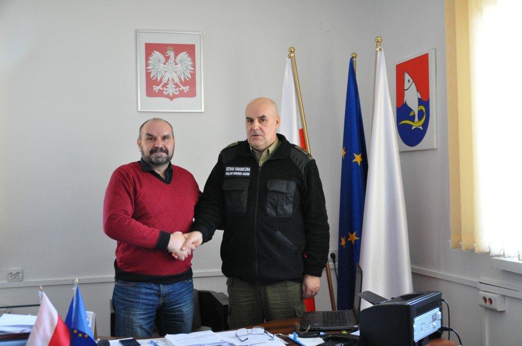 Wizyta Straży Granicznej