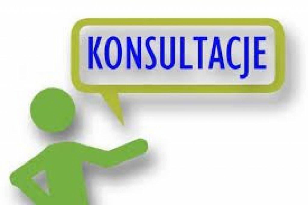 Informacja o rozpoczęciu konsultacji