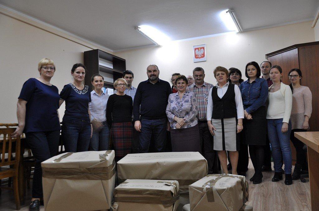 Pracownicy Urzędu Gminy wzięli udział w Szlachetnej Paczce