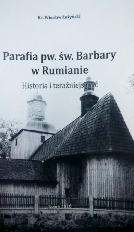 Książka o parafii w Rumianie