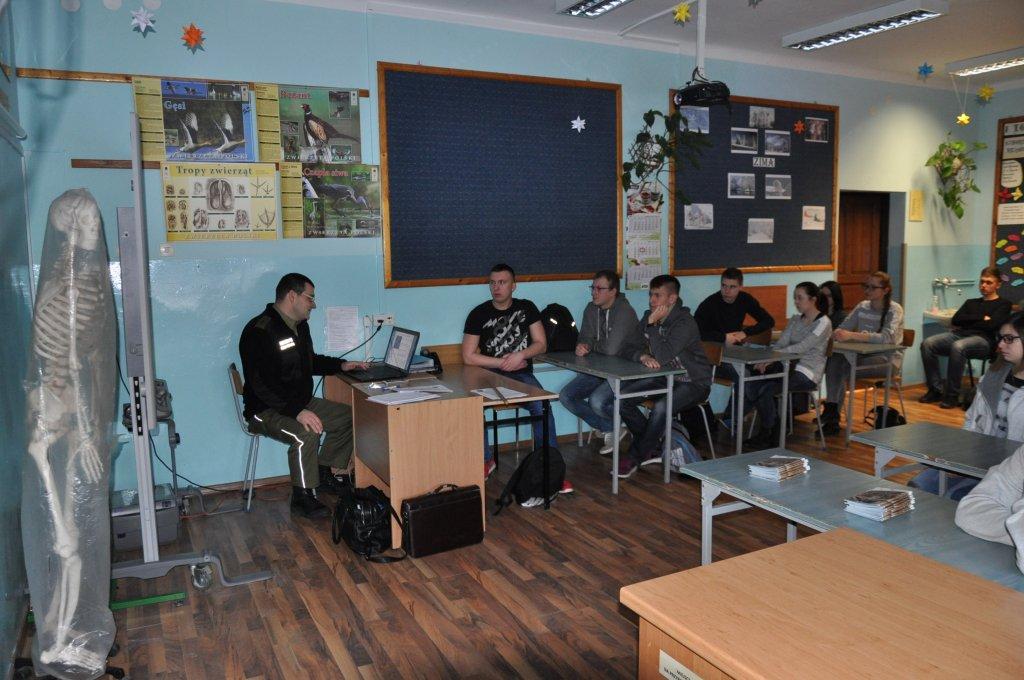 Spotkanie z Funkcjonariuszem Straży Granicznej