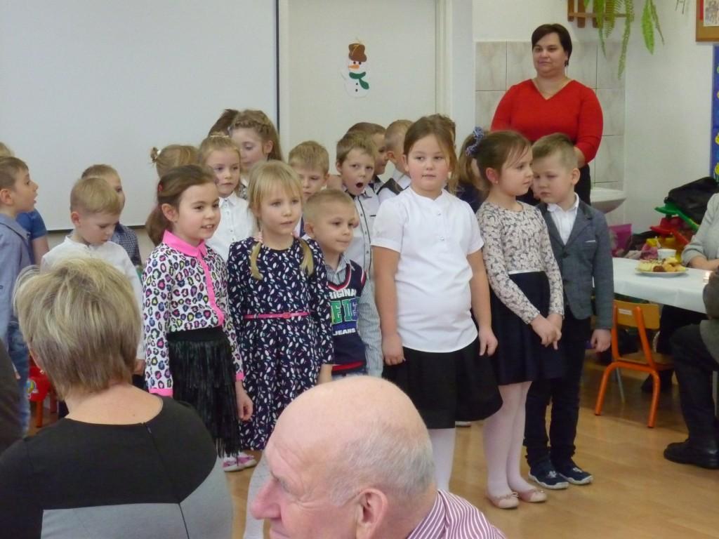 Dzień Babci i Dziadka w Szkole Podstawowej w Rybnie