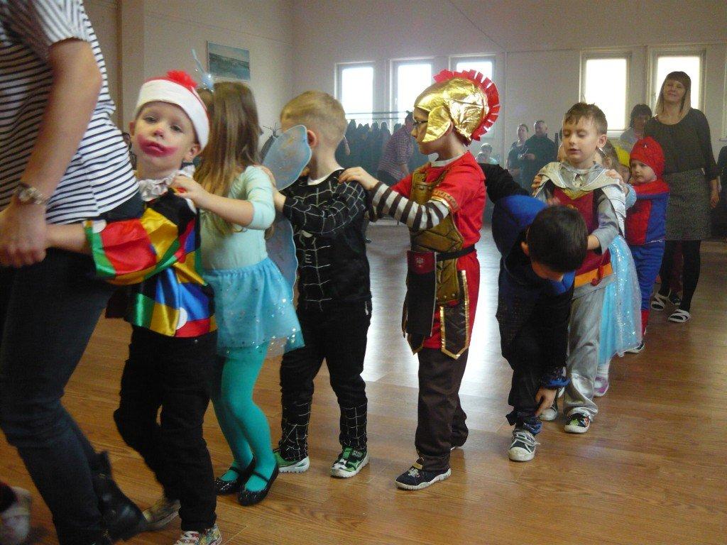 Zabawa karnawałowa przedszkolaków