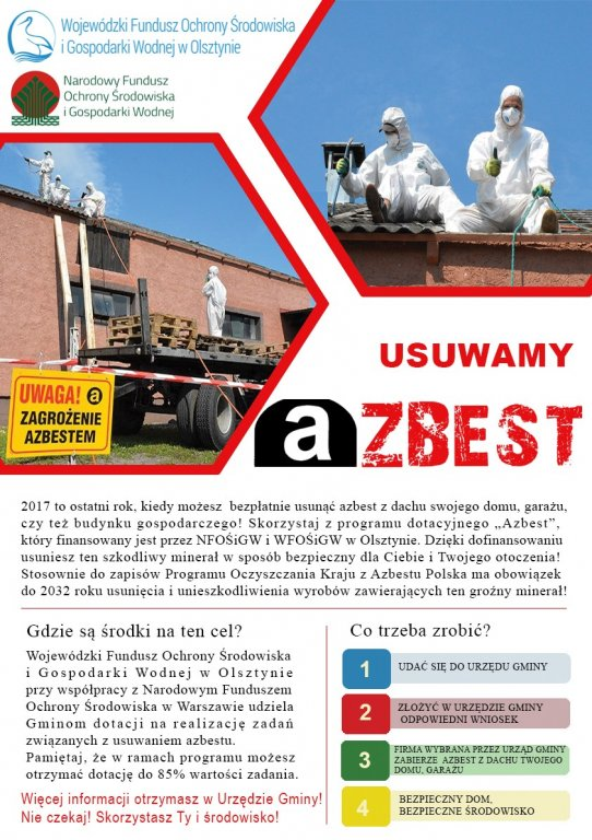 Ostatni rok dotacji na usuwanie azbestu!