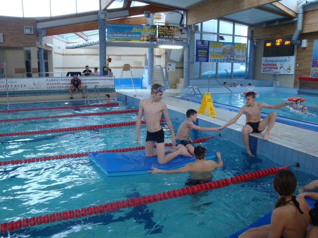 Nauka i doskonalenie pływania dla uczniów ZS w Rybnie