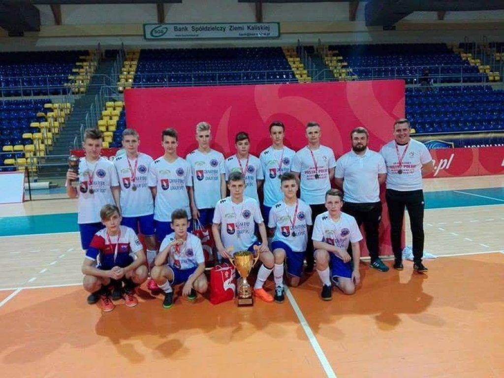 Piłkarze Delfina Rybno futsalowymi mistrzami Polski U-14