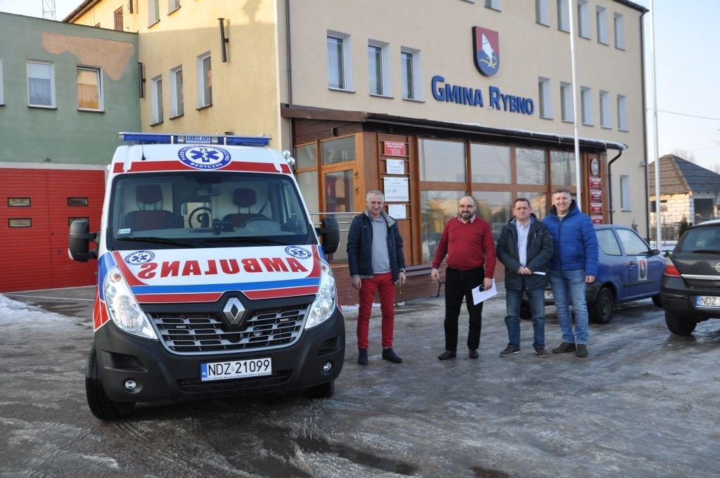 Nowy ambulans w Rybnie