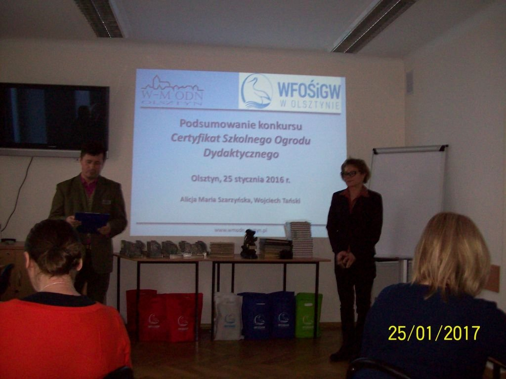 Szkoła Podstawowa w Rybnie z Certyfikatem Szkolnego Ogrodu Dydaktycznego