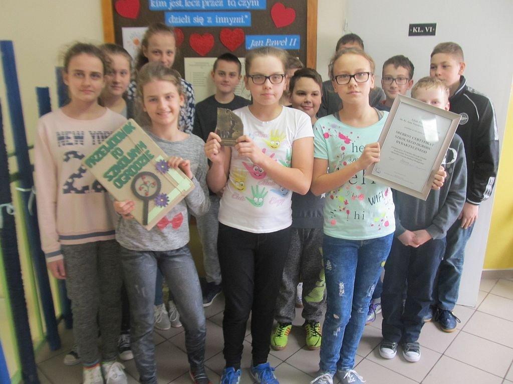 Szkoła w Rumianie otrzymała Srebrny Certyfikat Szkolnego Ogrodu Dydaktycznego