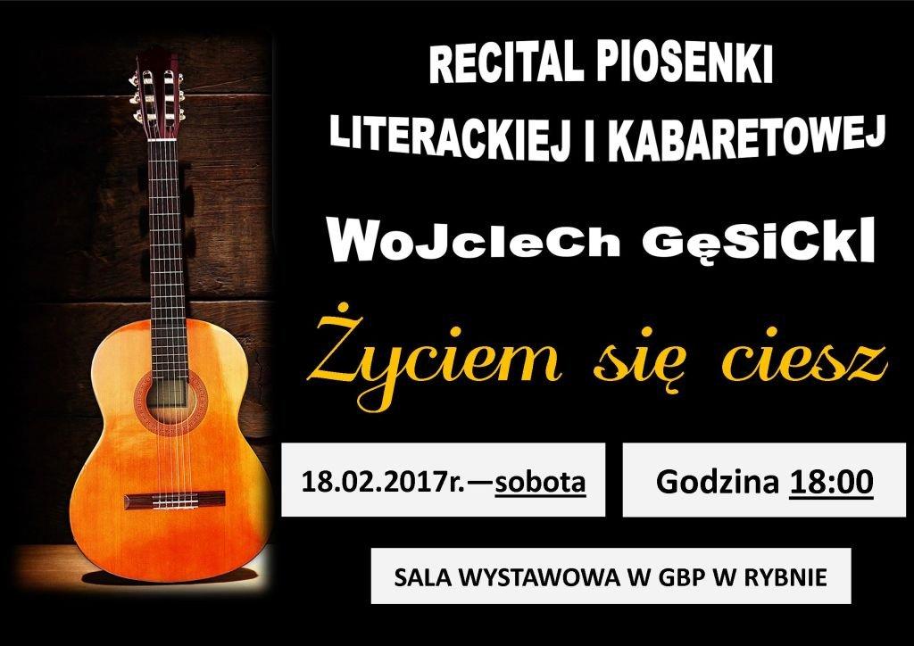 'Życiem się ciesz' - recital