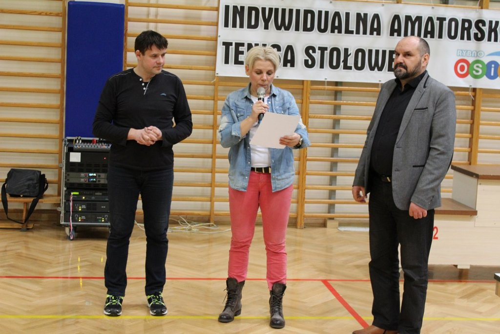 Marcin Kamiński został mistrzem IAL Tenisa Stołowego
