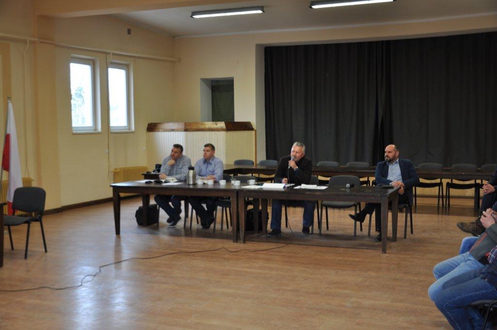 Spotkanie w sprawie inwestycji w obrębie drogi wojewódzkiej