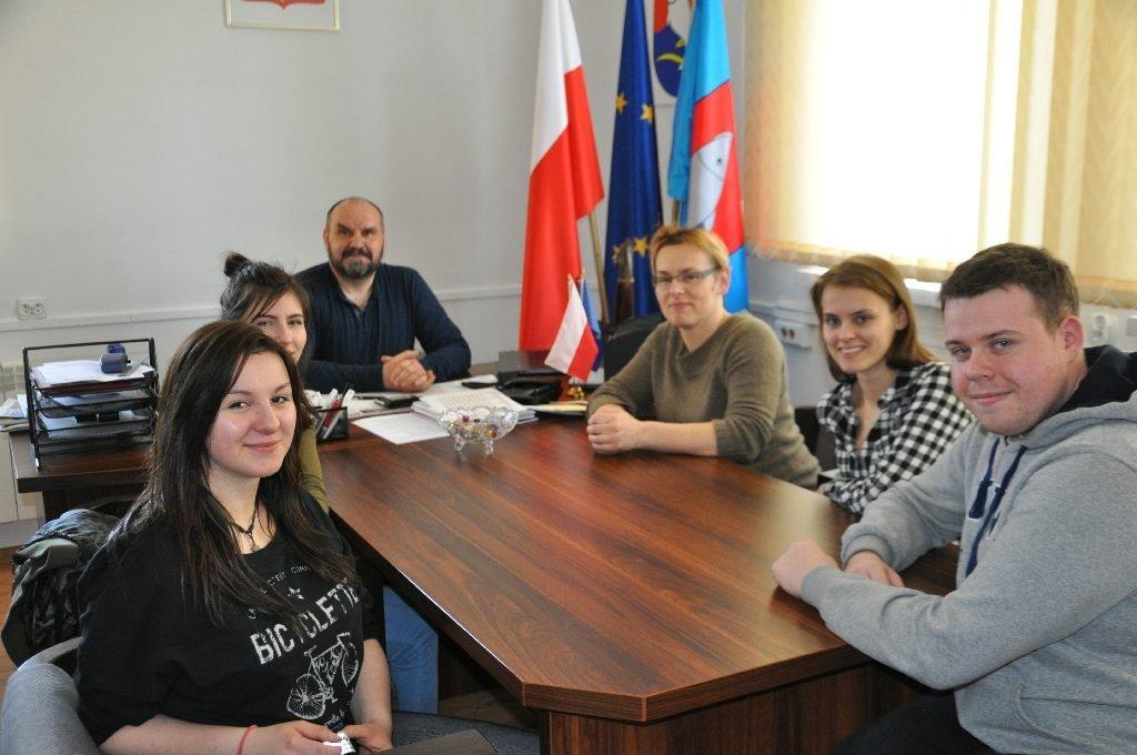 UWM w Olsztynie z wizytą u Wójta Gminy Rybno