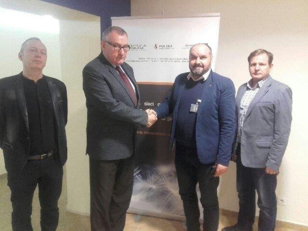 Wójt spotkał się z Dyrektorem Polskiej Spółki Gazownictwa