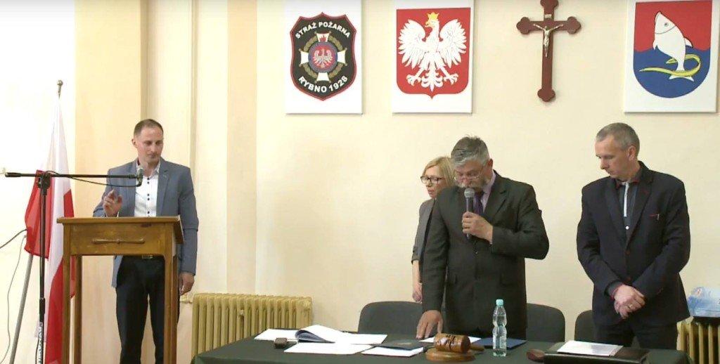 Tomasz Bielecki został radnym Rady Gminy Rybno