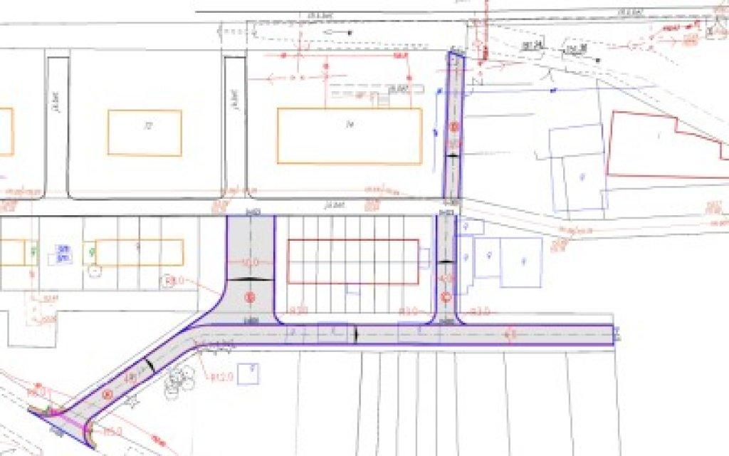 Informacja o planowanym zagospodarowaniu dróg